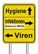 Schild Hygiene