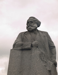 Statue of Karl Marx in Revolution Square