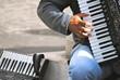Suonatore di strada a Madrid - Fisarmonica