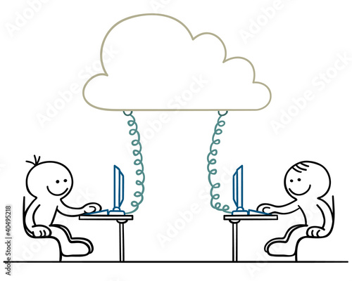figur cloud teamwork