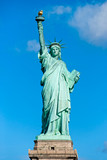 American symbol - Statue of Liberty. New York, USA. poster
