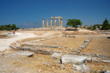 Ancient Corinth , Greece