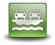 """Green 3D Effect Icon """"Vehicle Ferry"""""""