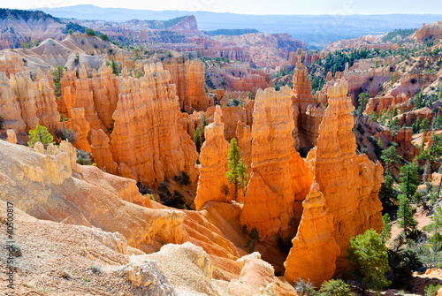 Hoodoos w Bryce Canyon NP, Utah, USA