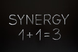 Synergy Concept on Blackboard