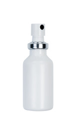 Bottle with spray.