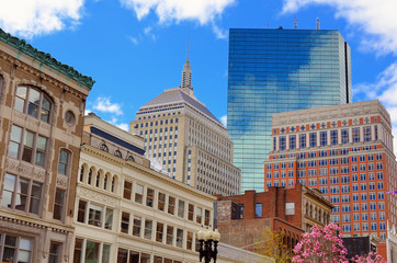 Back Bay Boston Buildings