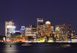 Boston Financial District Skyline