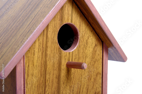 Nest box birdhouse, detail