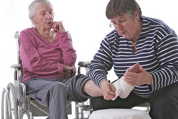 Aide à domicile - Pansement