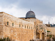 Al-Aqsa Mosque in the Old City of Jerusalem, Israel