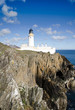 Lighthouse on the Cliffs with Blue sky - 40519883