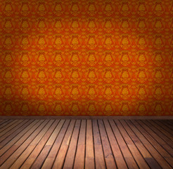 yellow wallpaper room