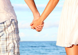 Fototapety Holding hands couple