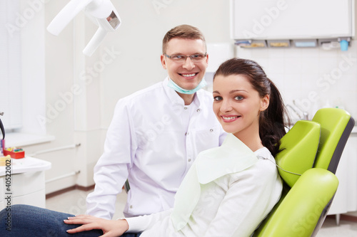 A dentist and a girl