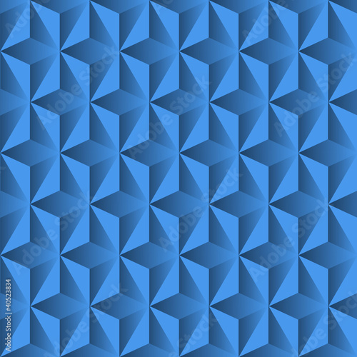 Blue background from pyramids