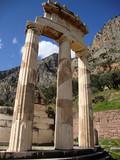 Temple of Athena, Ancient Delphi, Greece