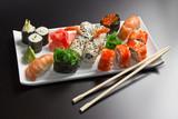 Fototapete Bambus - Rolle - Vorspeise / Salat