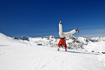 somersaults in the mountains
