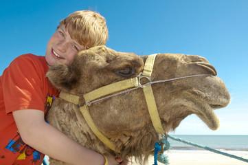 Kuscheln mit Kamel
