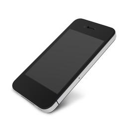 smartphone angled blank