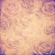 vintage roses background