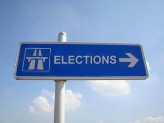 panneau elections