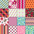 Seamless Patterns With Fabric ...