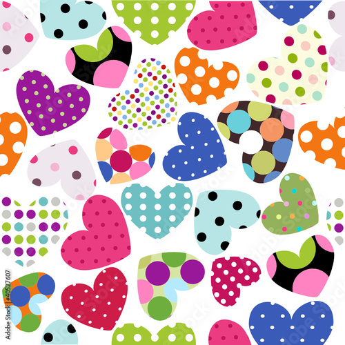 Obraz heart patches