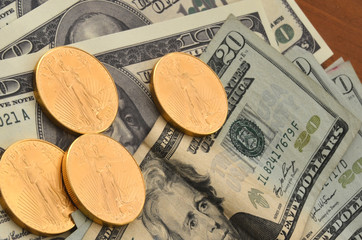 Gold Coins and Currency