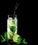 Fototapete Kalk - Minzen - Cocktail
