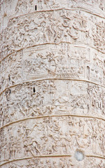Rome Trajan Column detail