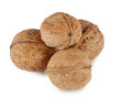A handful of walnuts