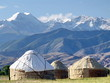 Nomadic yurt camp in Kyrgyzstan - 40532076