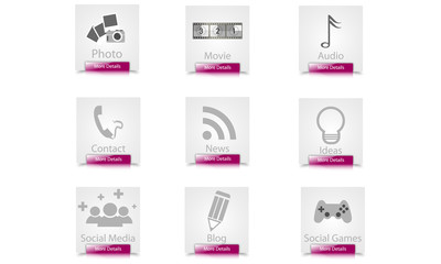 web elements button-icon