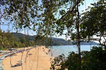 Kata Yai beach view, Phuket, Thailand