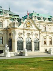 Ingresso del Belvedere di Vienna