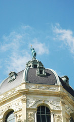 Vista della cupola del Kunsthistorisches Museum a Vienna
