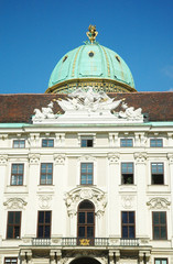 Ingresso del Kunsthistorisches Museum a Vienna
