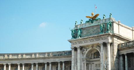 Il palazzo di Hofburg a Vienna