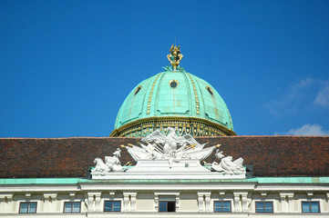 Cupola del Kunsthistorisches Museum a Vienna