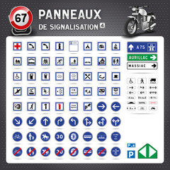 Panneaux de signalisation routière #4