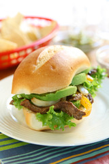 Mexican Beef Torta