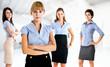 Business women team