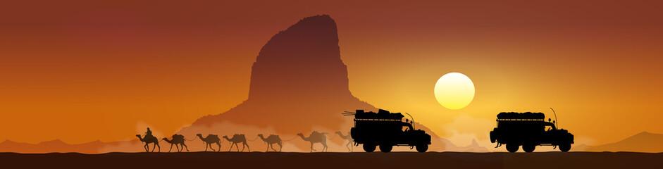 Trek au désert - Panorama