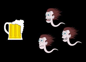 Trio cervecero