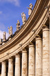 Statues of saints on the colonnade, Vatican City