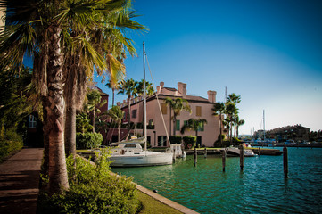 Sotogrande urbanisation and marina