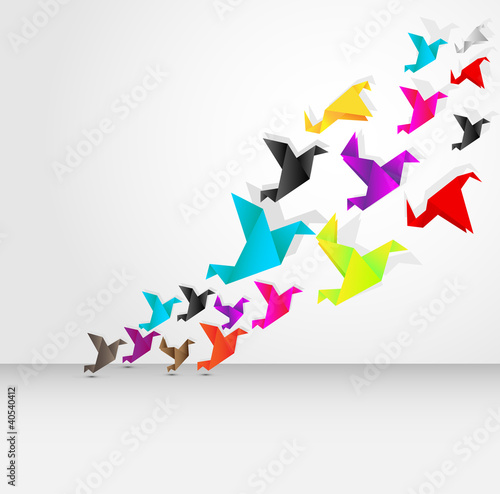 origami flying