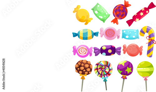 candies set
